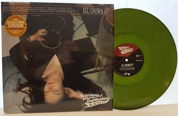 Hillbilly Moon Explosion All Grown Up green khaki vinyl LP 600