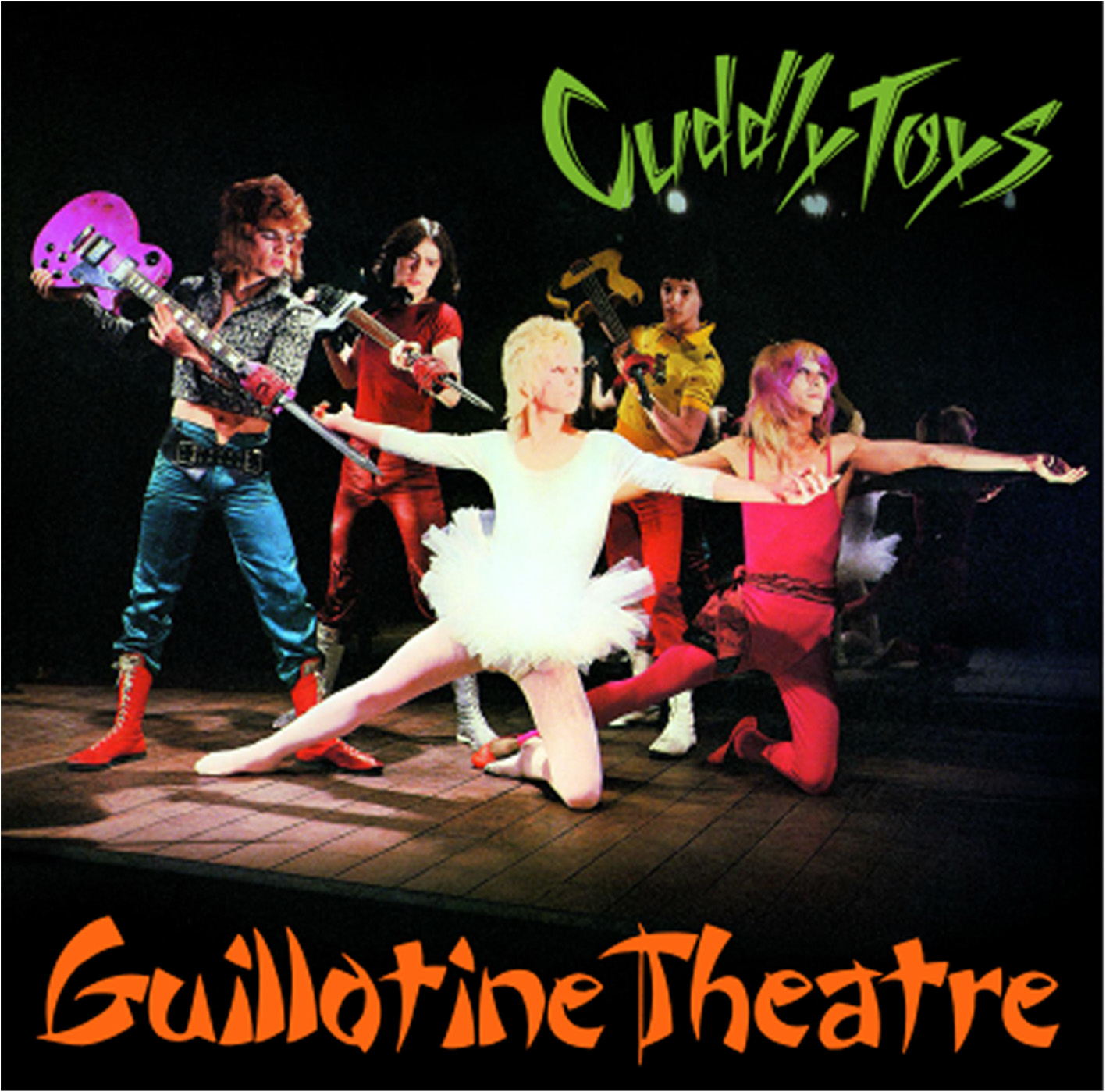 Cuddly Toys Guillotine Theatre cover