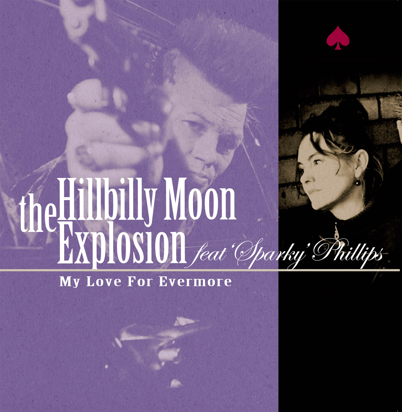Hillbilly Moon Explosion My Love purple