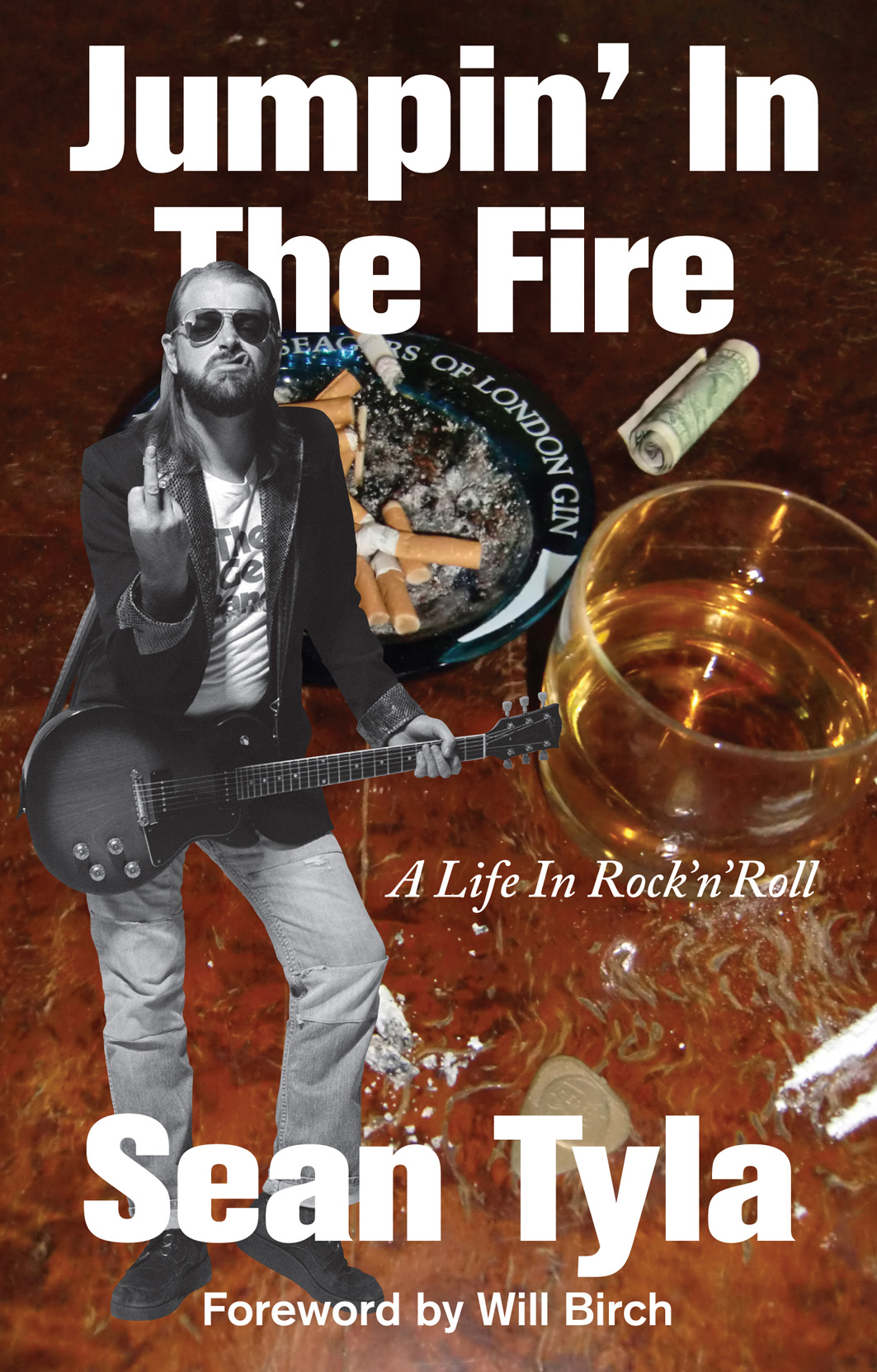 Sean Tyla - Jumpin In The Fire book cover
