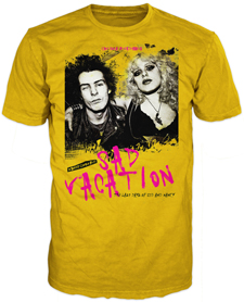 Sid & Nancy t-shirt also available